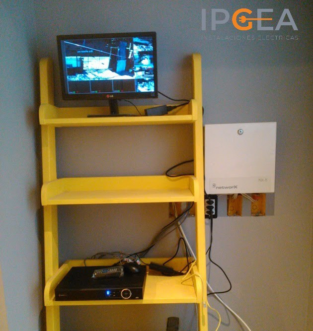 Instalacion Monitor Y Dvr Camaras Seguridad Ipgea